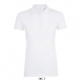 Polo coton élasthanne femme - Phoenix Women - Blanc