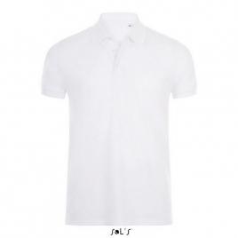Polo coton élasthanne homme - Phoenix Men - Blanc 3XL