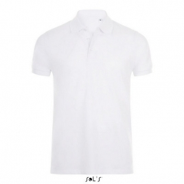 Polo coton élasthanne homme - Phoenix Men - Blanc