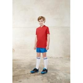 Maillot de rugby bi-matière manches courtes enfant