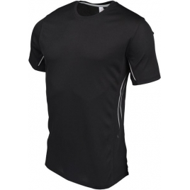 T-shirt bi-matière sport manches courtes