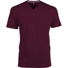 Tee-shirt homme manches courtes encolure V Kariban