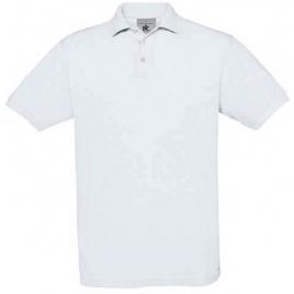 Polo Safran blanc B&C