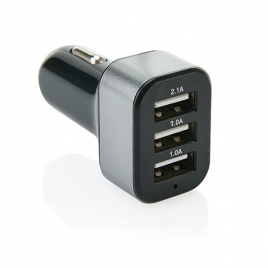Triple chargeur allume-cigare USB 3.1A