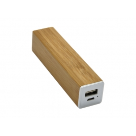 Chargeur nomade 'Bamboo', 2600 mAh