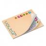 BIC® 101 mm x 75 mm Alternating Sheet Imprint 50 Sheet Adhesive Notepad