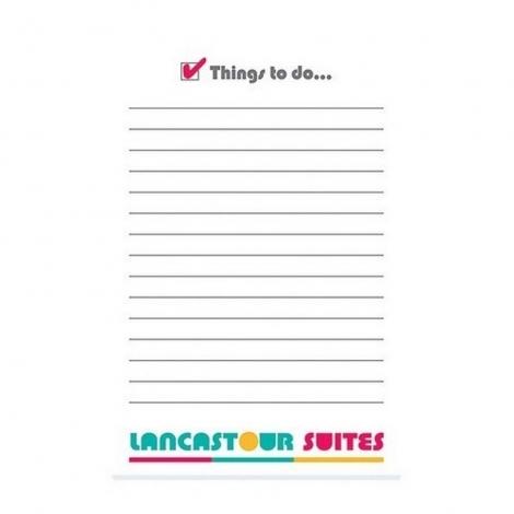 BIC® 101 mm x 152 mm 25 Sheet Adhesive Notepads