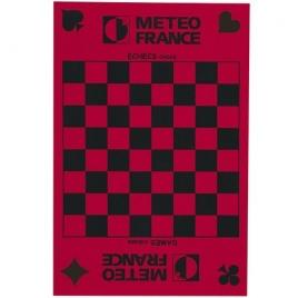 Tapis de cartes/dames/échecs  (+Sérigraphie GS11)