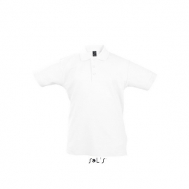 Polo enfant - SUMMER II KIDS - Blanc