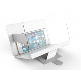 Agrandisseur d'ecran pour smartphone blanc