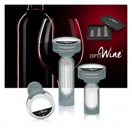 Coffret 3 carafes de poche OPTIWINE®