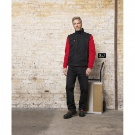 Bodywarmer unicolore workwear homme - WORKER PRO - 3XL