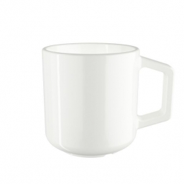 Tasse Amity en porcelaine blanche