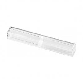 Étui 1 place en plastique transparent