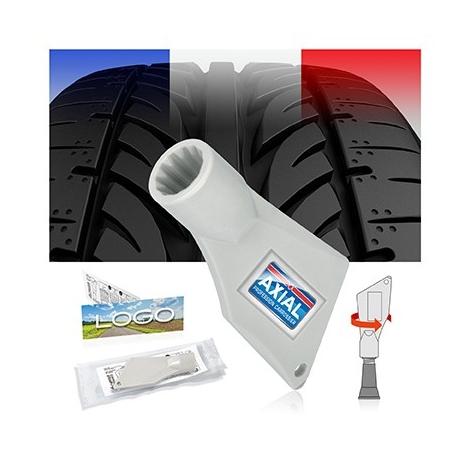 Testeur d'usure de pneu/démonte capuchon de valve