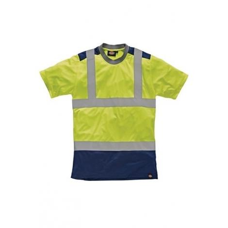 Tee-shirt haute visibilité bicolore