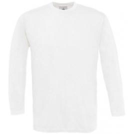 T-shirt manches longues blanc Exact 150 B&C