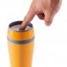 Mug isotherme à bouton poussoir