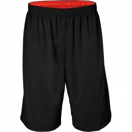 Short réversible basket-ball unisexe