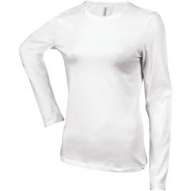 Tee-shirt femme manches longues encolure ronde Kariban