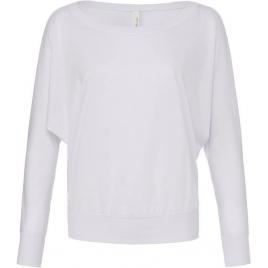 T-shirt polycoton manches longues femme