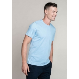 Tee-shirt homme manches courtes encolure ronde Kariban