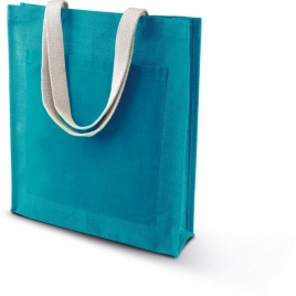 Sac Shopping Toile De Jute Kimood