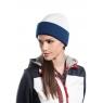 Bonnet bicolore avec revers