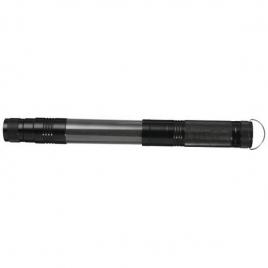 Lampe torche télescopique avec lumière latérale COB