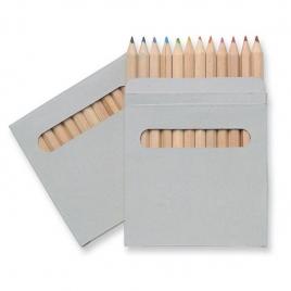 Etui fenêtre 12 crayons