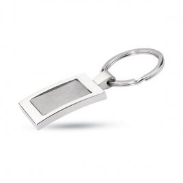 Porte-clés rectangulaire métal