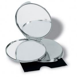 Miroir de luxe chromé
