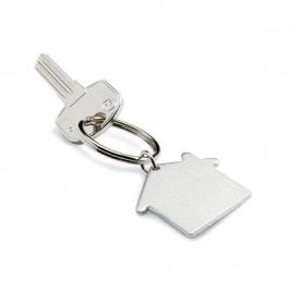 Porte clés métal maison