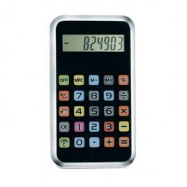 Calculatrice touches colorées