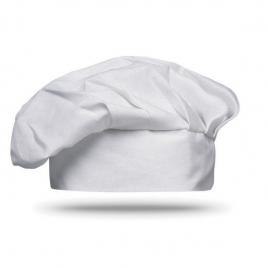 Toque de chef en coton 130g/m2