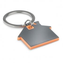 Porte-clés en forme de maison