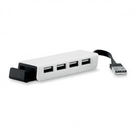 Hub USB et support smartphone