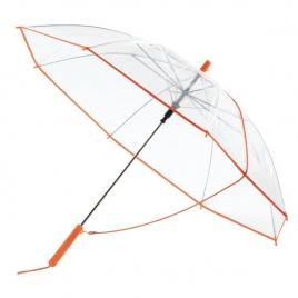 Parapluie automatique PANORAMIC transparent avec bandoulière
