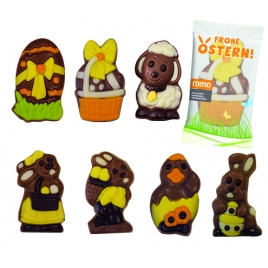 Figurine en chocolat  Pâques
