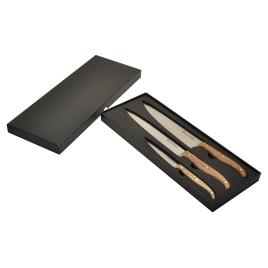 Coffret de 3 couteaux de cuisine 'Chef' Laguiole