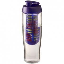Bouteille de sport et infuseur H2O Tempo® 700 ml avec couvercle àclapet