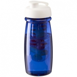 Bouteille de sport et infuseur H2O Pulse® 600 ml avec couvercle àclapet