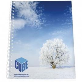 Couverture synthétique pour cahier Desk-Mate® A4