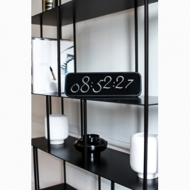 Horloge LCD SCRIPT CLOCK XL