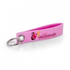 Porte-clés feutrine (transfert à chaud)