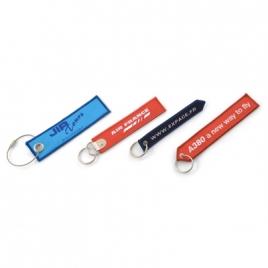 Porte-clés brode / tissé ou sublimé