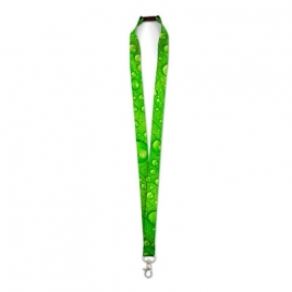 Lanyard sublime pet recycle quadri recto / verso 10mm