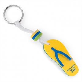 Porte-clés tong mousse eva