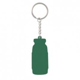 Porte-clés PVC souple 2D fond plat