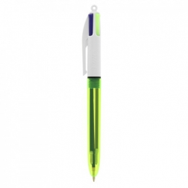 BIC® 4 Colours Fluo Bille